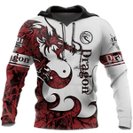 Love Dragon 3D All Over Printed Shirts MT0502-19