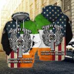 Irish 3D All Over Printed Shirt MT0402-19
