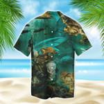 Into The Sea I Go Short Sleeve Shirt MT0903-01-HW