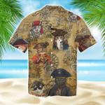 Amazing Pirate Cat Unisex Hawaiian Shirt MT1003-03