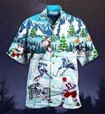 Let's Play Ice Hockey Short Sleeve Shirt MT1003-04-HW