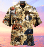 Amazing Pirate Cat Hawaiian Shirt MT1003-03-HW