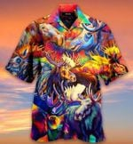 Corlorful Mooses Hawaiian Shirt MT1003-05-HW