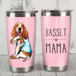 Basset Hound Mama - Stainless Steel Tumbler