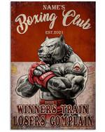 Tutu's Boxing Gym, 1972