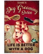 Dog Grooming Salon - Life Is Better Than With Dogs