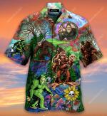 Hippie Bigfoot, Keep It Wild And Free Short Sleeve Shirt  AT2804-05