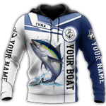 Tuna fishing Catch and Release 3D Design Print Shirts AT0405-04