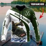 Catfish gone fishing 3D printed shirts AT0405-05