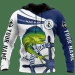 Mahi Mahi Fishing Catch and Release 3D Design Print Shirts AT0405-06