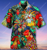 Good Morning It's Time To Rise And Shine Rooster Hawaiian Shirt  AT1205-01