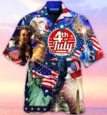 Happy 4th Of July 2021 Unisex Hawaiian Shirt  AT1505-07