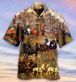 Good Old Memory, London Carriage Hawaiian Shirt  AT1905-01