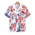 Texas Proud Bluebonnet Hawaiian Shirt AT2005-03