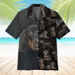 Dachshund Hawaiian Shirt  AT2205-01