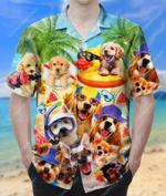 Amazing Summer Of Happy Puppies Hawaiian Shirt  AT2205-06