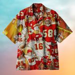 NFL Offensive Rugby Hawaiian Shirt  AT2505-03
