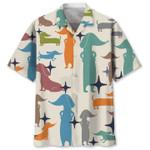 Dachshund Hawaiian Shirt AT2605-02