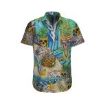 3D Hawaiian Shirt - Skull  AT2605-06