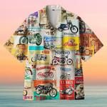 Amazing Vintage Retro Motorcycle Wall Logo Hawaiian Shirt  AT2605-05