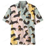 Dachshund  Hawaii Shirt AT2805-01