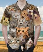 Say What? Surprised Cat Hawaiian Shirt  AT0306-17