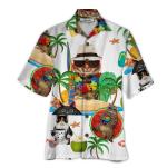 Happy Cat Hawaii Shirt   AT1406-12