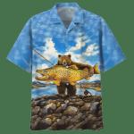 FISHING HAWAIIAN SHIRT 1506-05