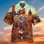 Horse Racing 3D Hawaiian Shirt   AT 1506-08