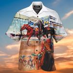 Horse Racing 3D All Over Printed Hawaiian Shirt AT1506-07