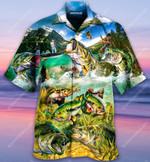 Bite Me Bass Fishing Hawaiian Shirt AT2806-05