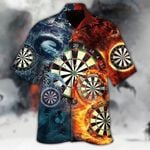 FIRE AND ICE DRAGON FIGHTING HAWAII SHIRT AT2406-04