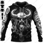 Odin Ragnarok Viking 3D All Over Printed Apparel 2808-3