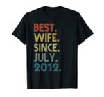 7th Wedding Anniversary Gifts Best Wife Since July 2012