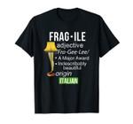 Christmas Leg Lamp Fragile Definition Funny Major Award Tee