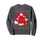 Hello Sanrio Characters Christmas Tree Sweater