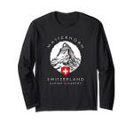 Switzerland Long Sleeve Matterhorn Xo4u Original