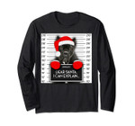 Xmas Cane Corso Lover Santa Hat Dog Christmas Long Sleeve