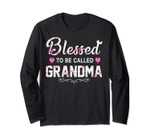 Women Blessed To Be Called Grandma Long Sleeve