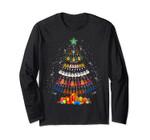 Ukulele Lover Christmas Tree Merry Xmas Gift Long Sleeve