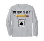 Spongebob Squarepants Doodlebob Me Hoy Minoy Long Sleeve Tee