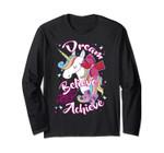 Jojo Siwa Dream Believe Achieve Unicorn Long Sleeve
