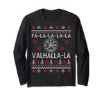 Vegvisir Compas Valhalla Ugly Christmas Viking Long Sleeve