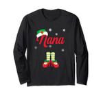 Nana Pajama Sleep Long Sleeve Matching Family Christmas Eve