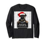 German Shepherd Lover Santa Hat Dog Christmas Long Sleeve