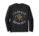Colorado Buffaloes Cu Buffs Ncaa Women's Long Sleeve C36ah02