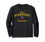 Us Army 82nd Airborne Division Paratrooper Long Sleeve Tee