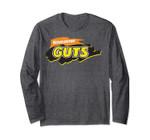 Guts Logo Nickelodeon Classic Vintage Title Long Sleeve