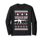 Ar15 Ugly Christmas Sweater Style Long Sleeve Xmas