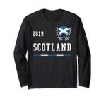 Scotland Football Jersey 2019 Scottish Soccer Long Sleeve